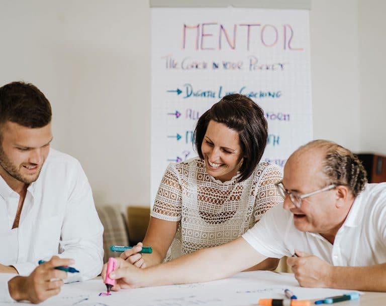 Mentor Coaches bei der Arbeit